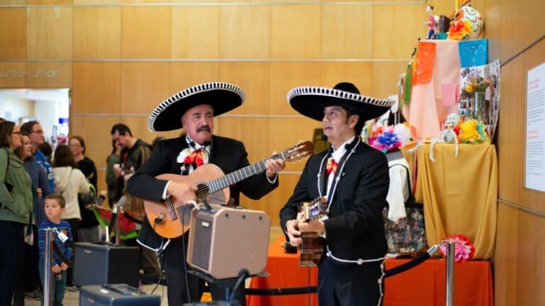 Dia de los Muertos mariachi band